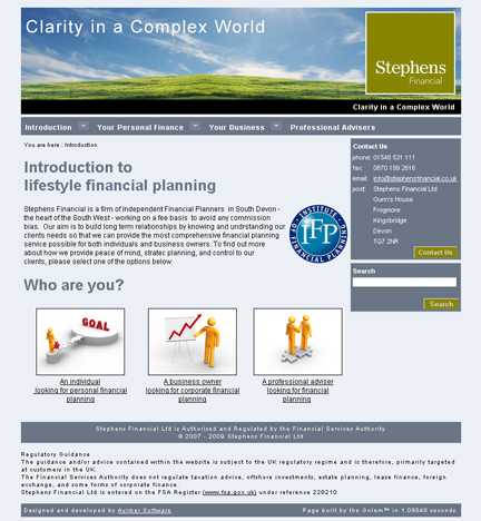 Stephens Financial - lifestyle financial planning